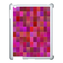 Shapes Abstract Pink Apple Ipad 3/4 Case (white)