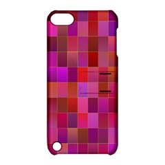 Shapes Abstract Pink Apple Ipod Touch 5 Hardshell Case With Stand by Nexatart