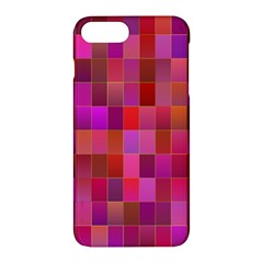 Shapes Abstract Pink Apple Iphone 7 Plus Hardshell Case