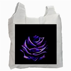 Rose Flower Design Nature Blossom Recycle Bag (two Side)  by Nexatart