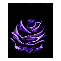 Rose Flower Design Nature Blossom Shower Curtain 60  X 72  (medium)  by Nexatart