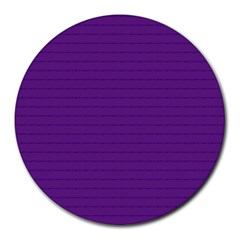 Pattern Violet Purple Background Round Mousepads by Nexatart