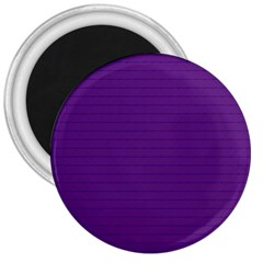 Pattern Violet Purple Background 3  Magnets by Nexatart