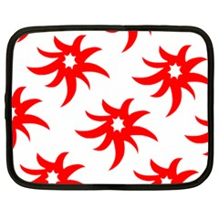 Star Figure Form Pattern Structure Netbook Case (xl)