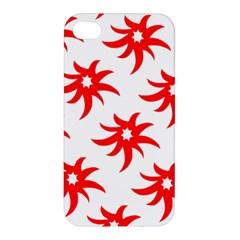 Star Figure Form Pattern Structure Apple Iphone 4/4s Premium Hardshell Case