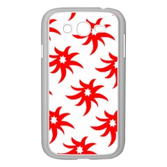 Star Figure Form Pattern Structure Samsung Galaxy Grand Duos I9082 Case (white) by Nexatart