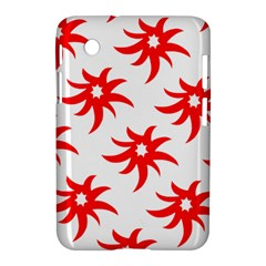 Star Figure Form Pattern Structure Samsung Galaxy Tab 2 (7 ) P3100 Hardshell Case  by Nexatart