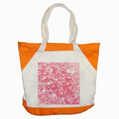 Plant Flowers Bird Spring Accent Tote Bag
