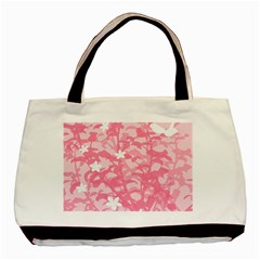 Plant Flowers Bird Spring Basic Tote Bag (two Sides) by Nexatart