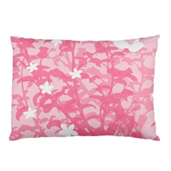 Plant Flowers Bird Spring Pillow Case (two Sides)