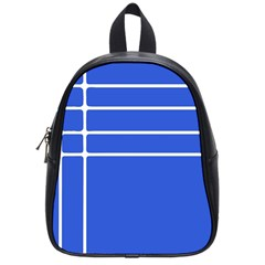 Stripes Pattern Template Texture School Bags (small)