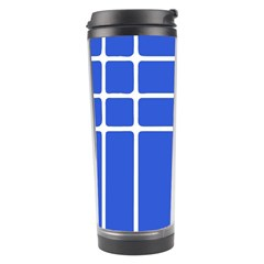 Stripes Pattern Template Texture Travel Tumbler