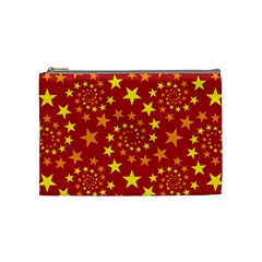 Star Stars Pattern Design Cosmetic Bag (medium)