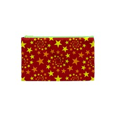 Star Stars Pattern Design Cosmetic Bag (xs) by Nexatart