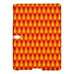 Simple Minimal Flame Background Samsung Galaxy Tab S (10 5 ) Hardshell Case