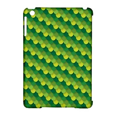 Dragon Scale Scales Pattern Apple Ipad Mini Hardshell Case (compatible With Smart Cover) by Nexatart