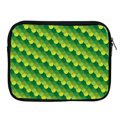 Dragon Scale Scales Pattern Apple Ipad 2/3/4 Zipper Cases by Nexatart