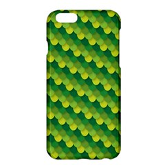 Dragon Scale Scales Pattern Apple Iphone 6 Plus/6s Plus Hardshell Case by Nexatart