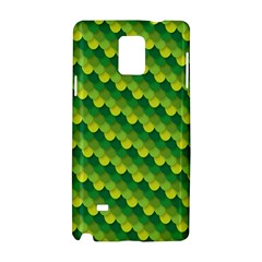 Dragon Scale Scales Pattern Samsung Galaxy Note 4 Hardshell Case by Nexatart