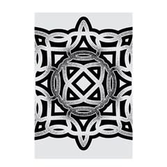 Celtic Draw Drawing Hand Draw Shower Curtain 48  X 72  (small)  by Nexatart