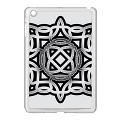 Celtic Draw Drawing Hand Draw Apple Ipad Mini Case (white) by Nexatart