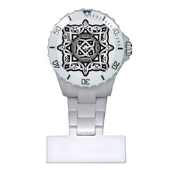 Celtic Draw Drawing Hand Draw Plastic Nurses Watch by Nexatart