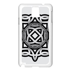 Celtic Draw Drawing Hand Draw Samsung Galaxy Note 3 N9005 Case (white) by Nexatart