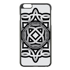 Celtic Draw Drawing Hand Draw Apple Iphone 6 Plus/6s Plus Black Enamel Case by Nexatart