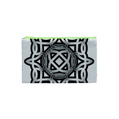 Celtic Draw Drawing Hand Draw Cosmetic Bag (xs) by Nexatart