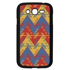 Aztec Traditional Ethnic Pattern Samsung Galaxy Grand Duos I9082 Case (black)