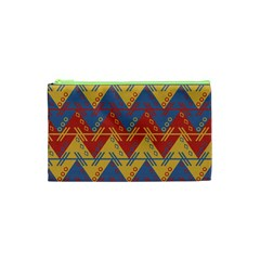 Aztec Traditional Ethnic Pattern Cosmetic Bag (xs) by Nexatart