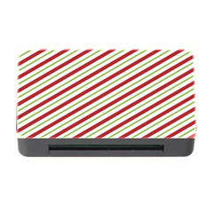 Stripes Striped Design Pattern Memory Card Reader With Cf by Nexatart