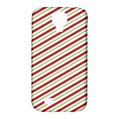 Stripes Striped Design Pattern Samsung Galaxy S4 Classic Hardshell Case (pc+silicone) by Nexatart