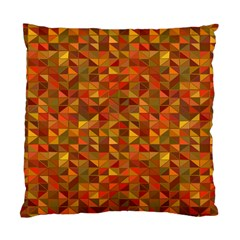 Gold Mosaic Background Pattern Standard Cushion Case (one Side) by Nexatart