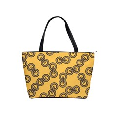 Abstract Shapes Links Design Shoulder Handbags by Nexatart