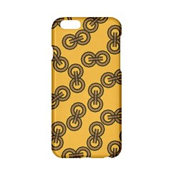 Abstract Shapes Links Design Apple Iphone 6/6s Hardshell Case by Nexatart