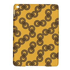 Abstract Shapes Links Design Ipad Air 2 Hardshell Cases by Nexatart