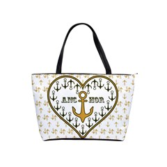 Anchor Heart Shoulder Handbags by Nexatart
