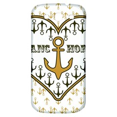 Anchor Heart Samsung Galaxy S3 S Iii Classic Hardshell Back Case by Nexatart