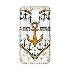 Anchor Heart Samsung Galaxy S5 Hardshell Case