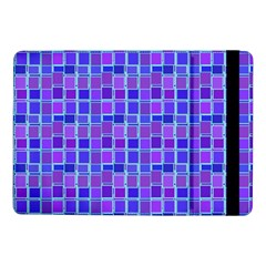 Background Mosaic Purple Blue Samsung Galaxy Tab Pro 10 1  Flip Case by Nexatart