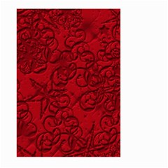 Christmas Background Red Star Large Garden Flag (two Sides) by Nexatart