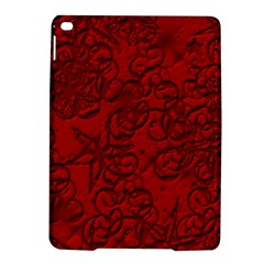 Christmas Background Red Star Ipad Air 2 Hardshell Cases by Nexatart