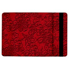 Christmas Background Red Star Ipad Air 2 Flip by Nexatart