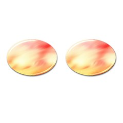 Background Abstract Texture Pattern Cufflinks (oval)
