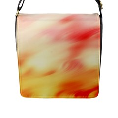 Background Abstract Texture Pattern Flap Messenger Bag (l)