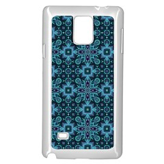 Abstract Pattern Design Texture Samsung Galaxy Note 4 Case (white) by Nexatart