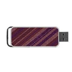 Stripes Course Texture Background Portable Usb Flash (one Side) by Nexatart