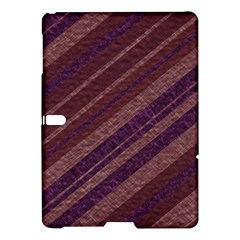 Stripes Course Texture Background Samsung Galaxy Tab S (10 5 ) Hardshell Case  by Nexatart