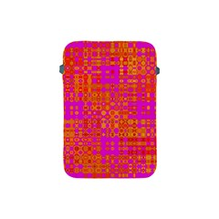 Pink Orange Bright Abstract Apple Ipad Mini Protective Soft Cases by Nexatart